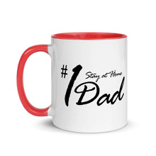 Stay At Home Dad Mug with Color Inside