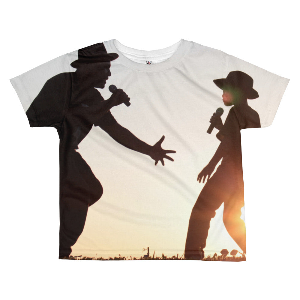 Father and Son - Why We Sing! - All-over kids sublimation T-shirt - Original Photography