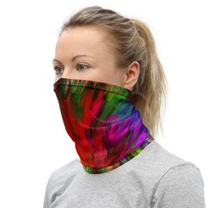 Disco Lights Tye-Dye Style Neck Gaiter