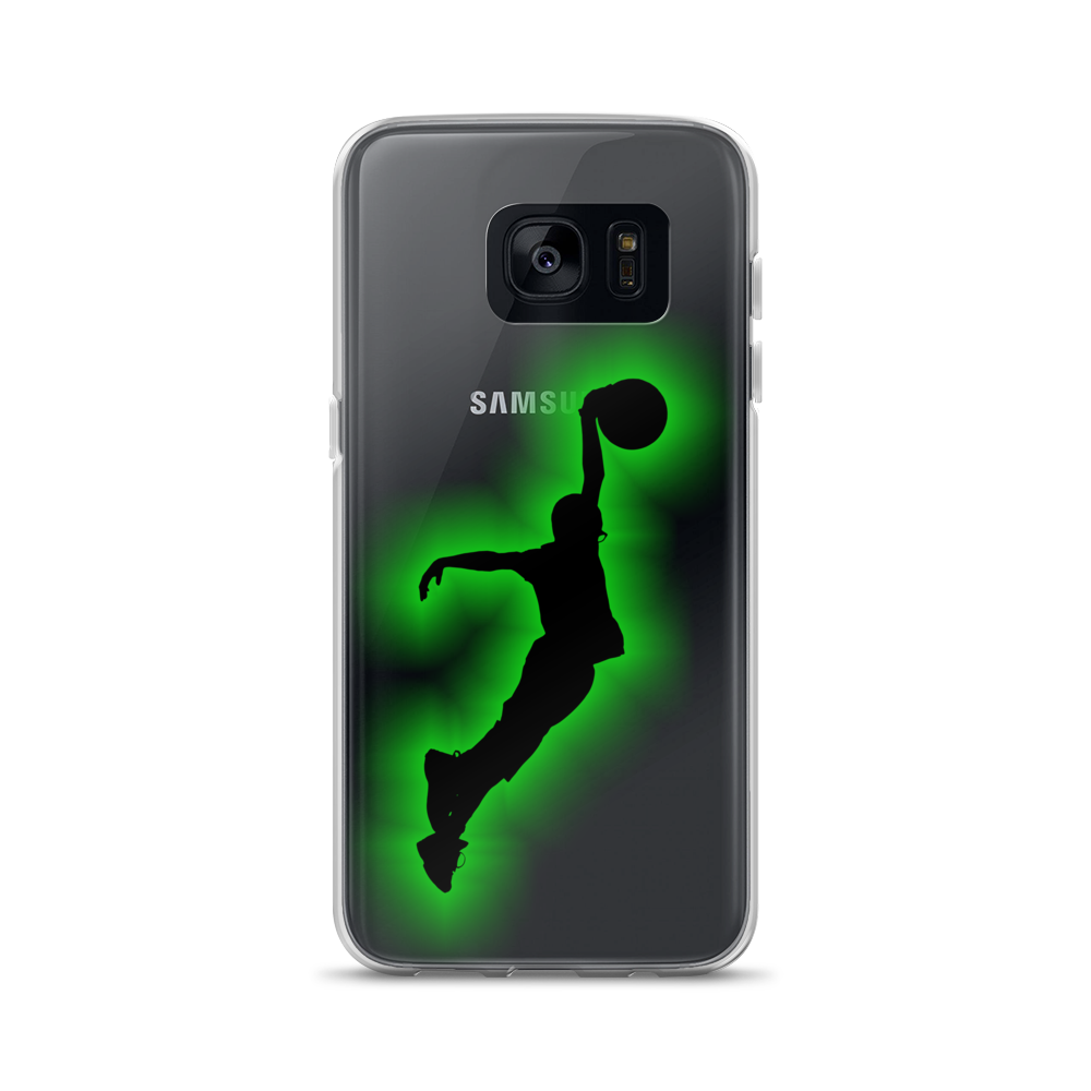 DTL iFly Slam Samsung Case - Green Outline