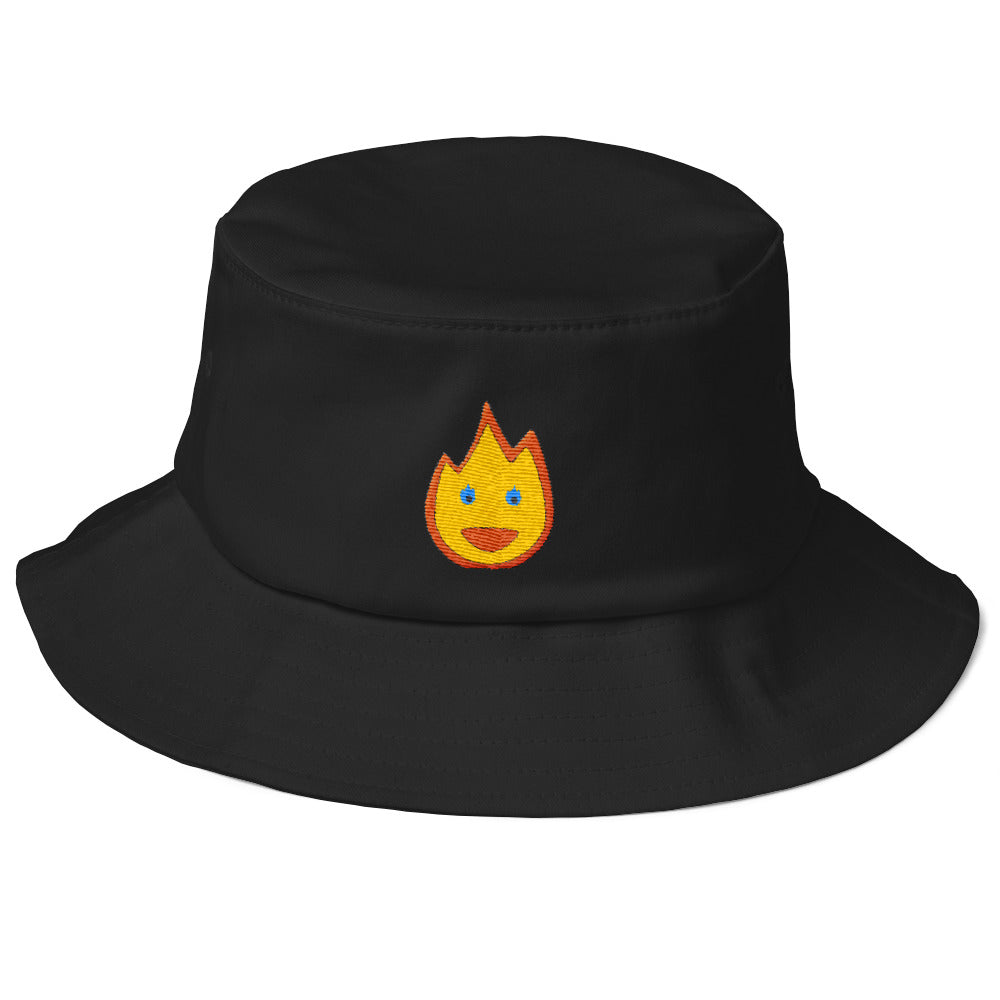 'Awesomojee Fire' LIT! Old School Bucket Hat