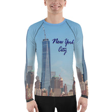Original New York City Photo Men's Rash Guard