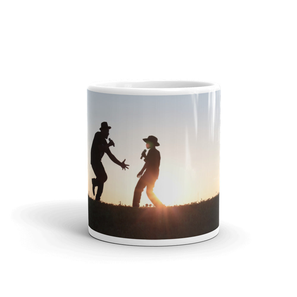 Father and Son - The Reason Why We Sing! Coffee Mug - Original Photography