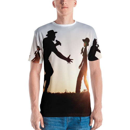 Father and Son - We Rock The Mic! All Over Tee - Original Photography