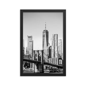 Freedom Tower - Framed poster Original VIP Photography