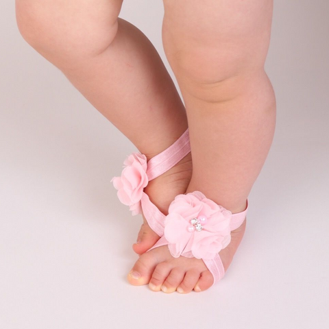 Bare Foot Sandals and Headband