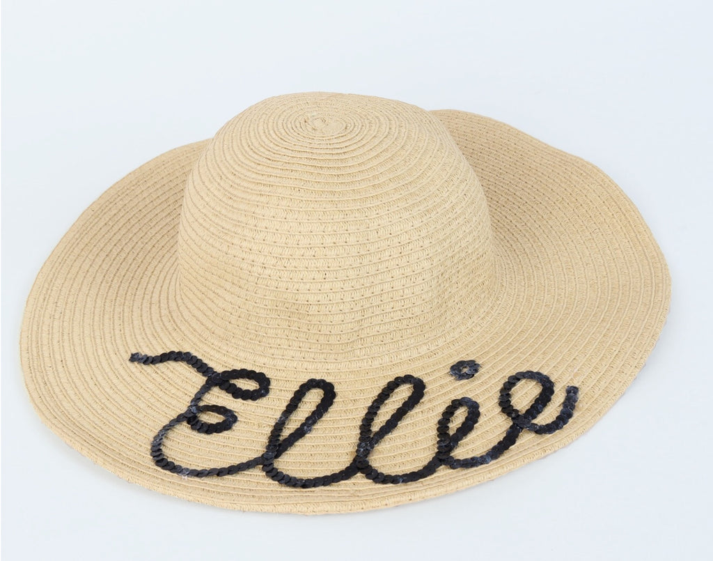Personalised Sun Hat – Peaches and Dream Childrenswear 341858b8e89