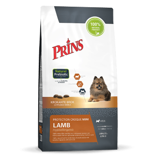 Prins Protection Croque Mini Lamb Hypoallergenic - Ekstrudert fôr for voksne sensitive hunder av små raser