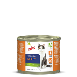 Prins NatureCare Cat - KALKUN (200g)