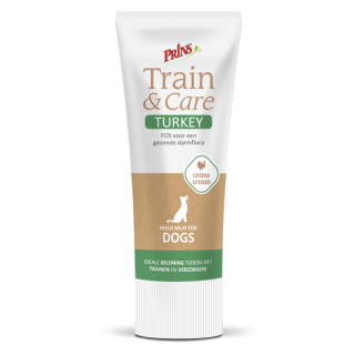Prins Train & Care Dog - KALKUN (75g)