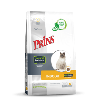 Prins VitalCare Protection Indoor - For mindre aktive, voksne katter