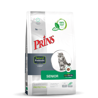 Prins VitalCare Protection Senior - For eldre katter