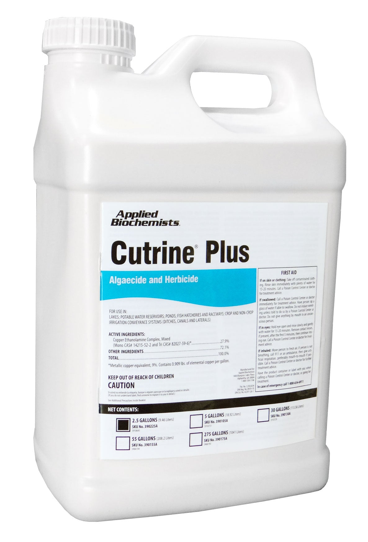 Cutrine® Plus 2.5 Gallon