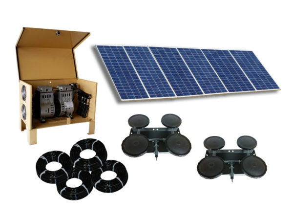 Deep Water Solar Aerators