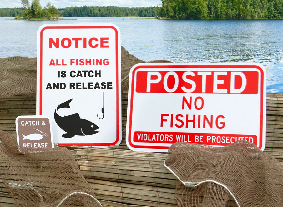 Waterway Signs