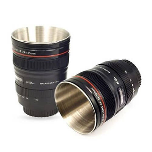 Camera Lens Shot Glass Set of 2 - Objektif Shot Bardak 2'li Set