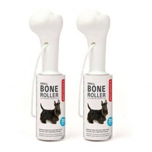 Dog Bone Lint Roller Small Set Of 2 - Kemik Tüy Toplayıcı 2'li Set