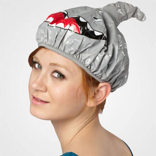 Funny Animals Shower Caps - Eğlenceli Duş Boneleri