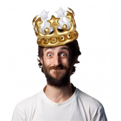 King For The Day - Şişme Taçlar
