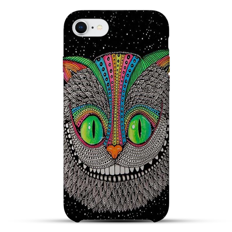 Horrible Cat Silicon Mobile Cover - 11