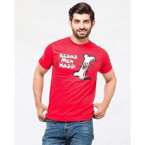 Kebab Mein Haddi T-Shirt for Men