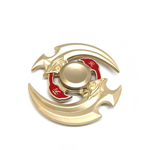 The Furious Gold Blade Spinner