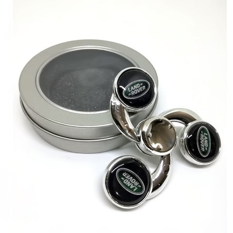 Land Rover Metal Tri-Spinner in Silver