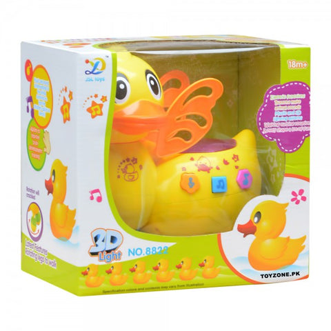 Battery Operated Duck with Sound & Light