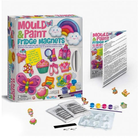 Mould & Paint Fridge Magnets Toy for Kids