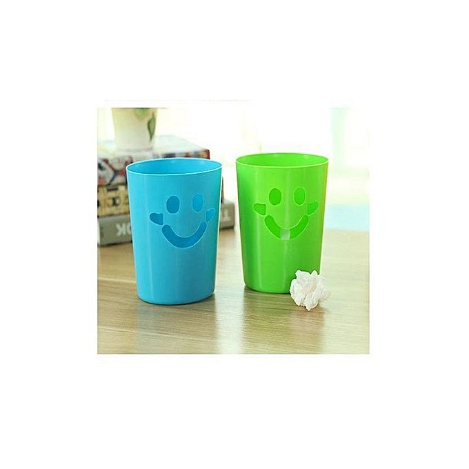 Pack Of 2 - Portable Pen/Pencil Holder - Green & Blue