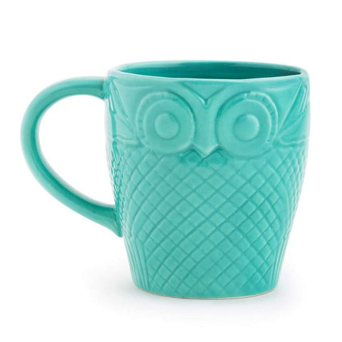 Owl Is Well Mug - Green