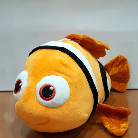 Soft Stuffed Clown Fish Figure