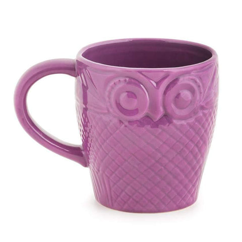 Owl Is Well Mug - Purple