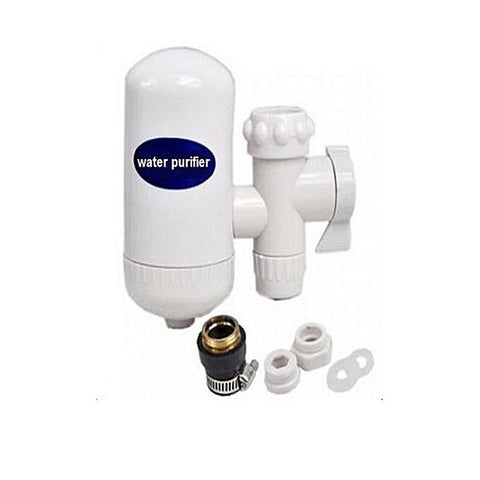 Ceramic Cartridge Water Purifier Filter For Home & Office - White