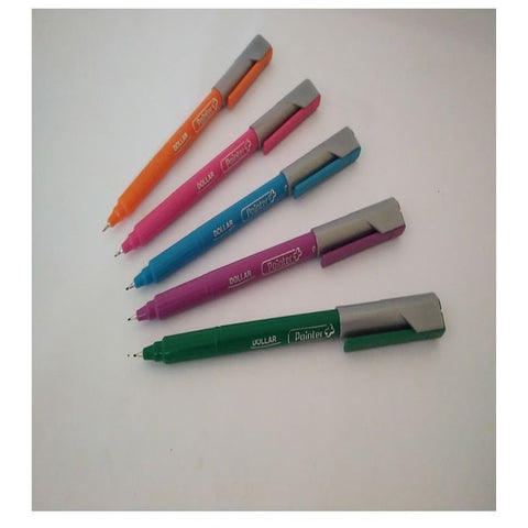 Dollar Color Pointer Set of 5 Markers