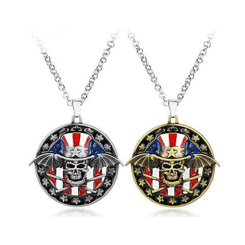Pair of AVENGED Seven Fold Pendant for Men