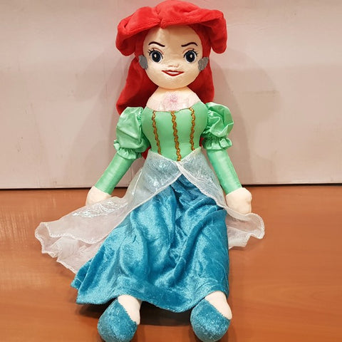 Soft Stuffed Princess Ariel Figure