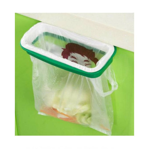 Trash Bag Holder for Kitchen - Green