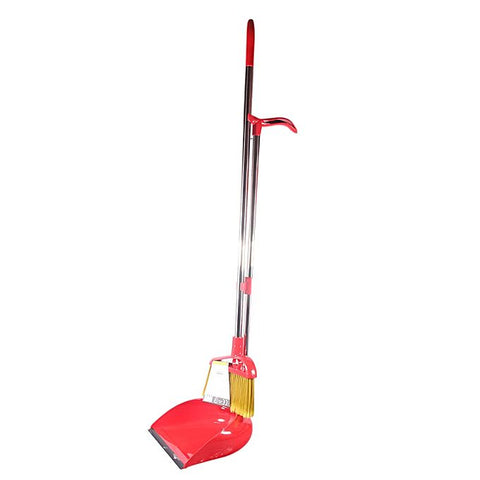 Limon Sweep Broom Brush and Dustpan Set