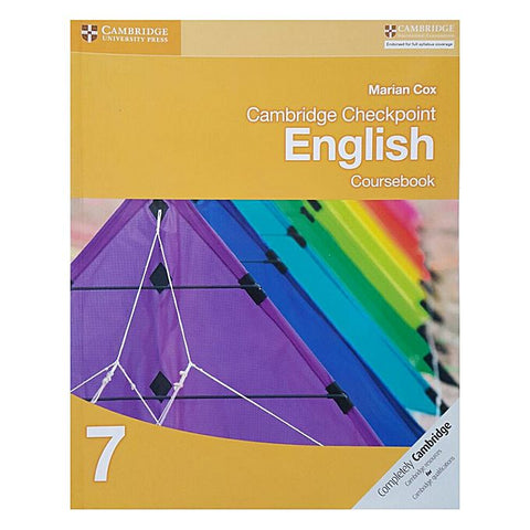 Cambridge Checkpoint English Coursebook - 7