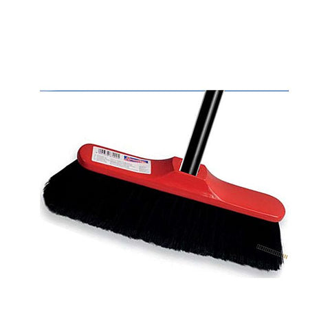 Black Broom Brush with Handle