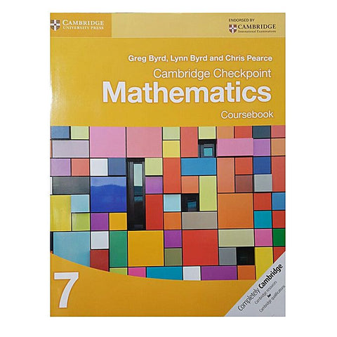Cambridge Checkpoint Mathematics Coursebook - 7