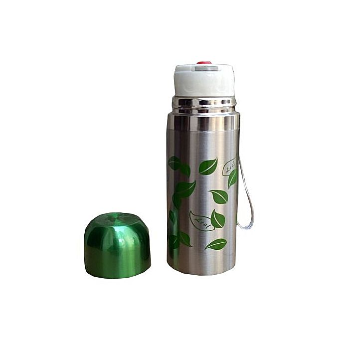 Hot and Cold Water Bottle Green - 500 ml