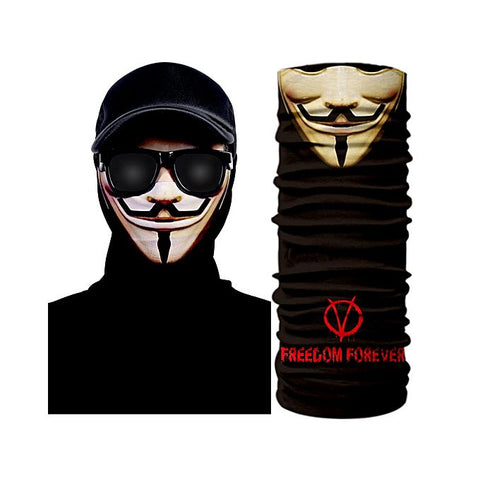 Anonymous 3D Creative Face Mask Bandana