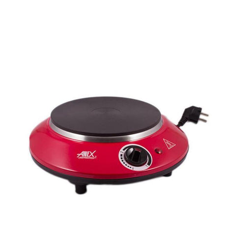 Anex AG-2065 Hot Plate - Red & Black