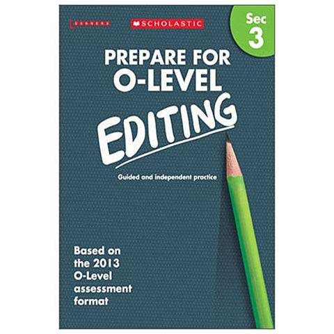 Prepare For O-Level: Editing