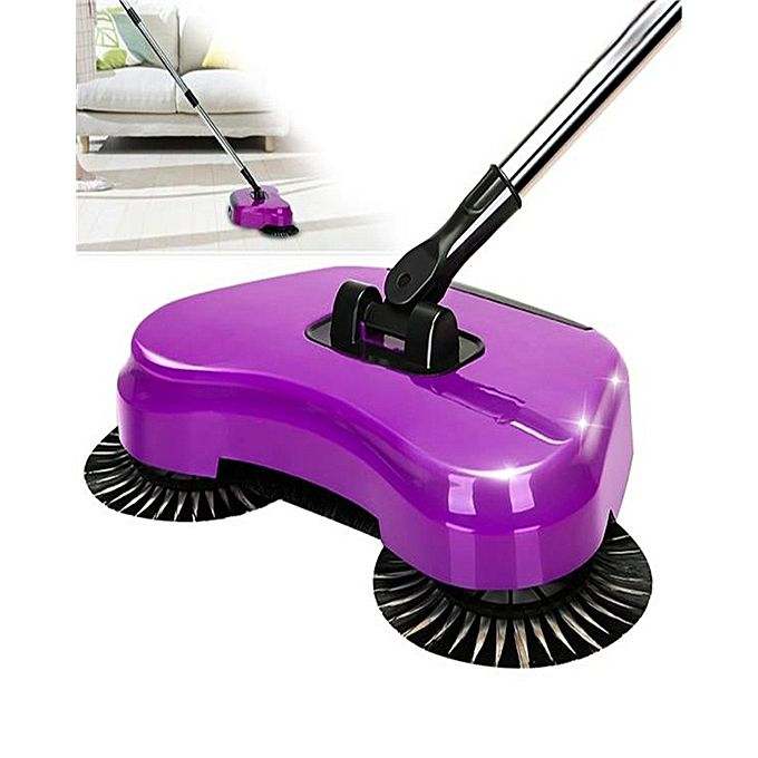 Multi-Function Mop Sweeper - Purple