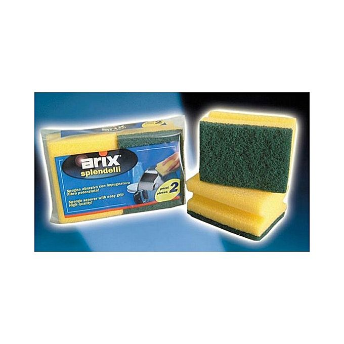 Synth Scouring Sponge - Green
