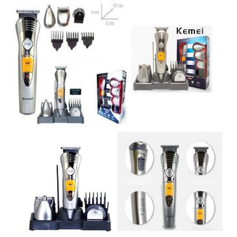 KM-580 A - 7 In 1 Rechargeable Grooming Kit Shaver & Trimmer