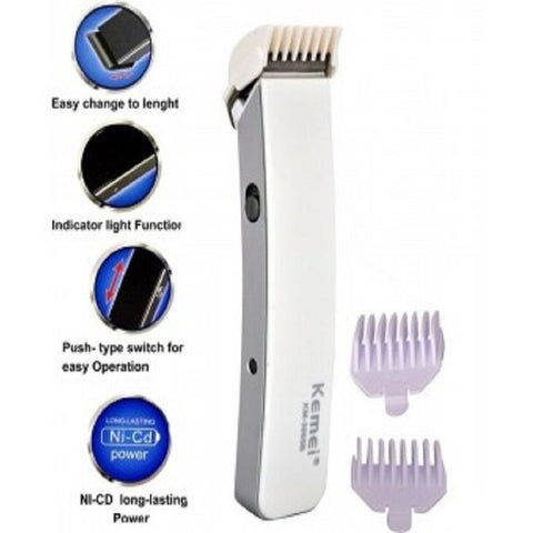 Professional Electric Hair Trimmer & Shaver - KM-3005 B